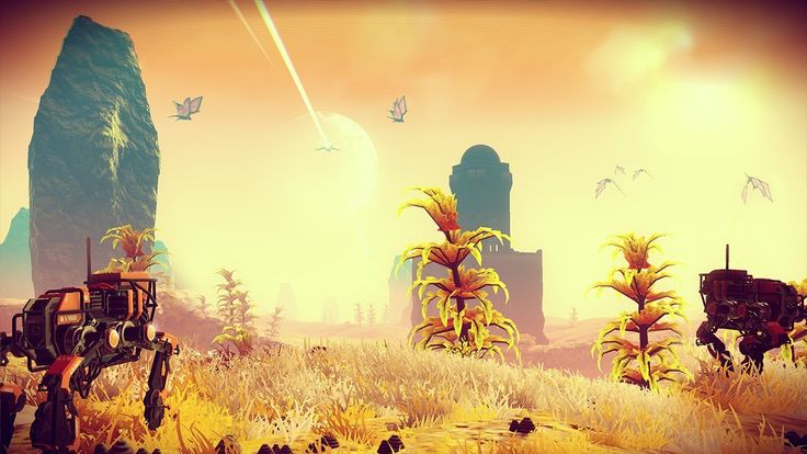 No Man's Sky: See a 24-hour Time Lapse in 1 Minute - IGN First Here's what a full day-night cycle looks like while standing in the same spot on the same planet in No Man's Sky. April 26 2016 at 05:00PM  https://www.youtube.com/user/ScottDogGaming