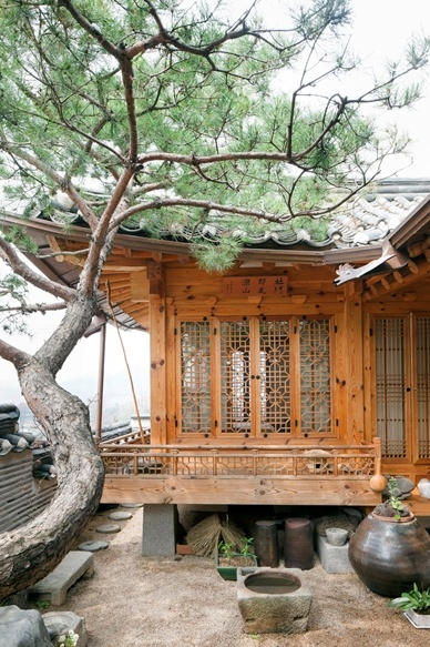 Korea traditional house
