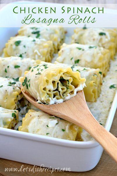 Best 25 chicken spinach recipes ideas on pinterest for Spinach chicken lasagna recipe