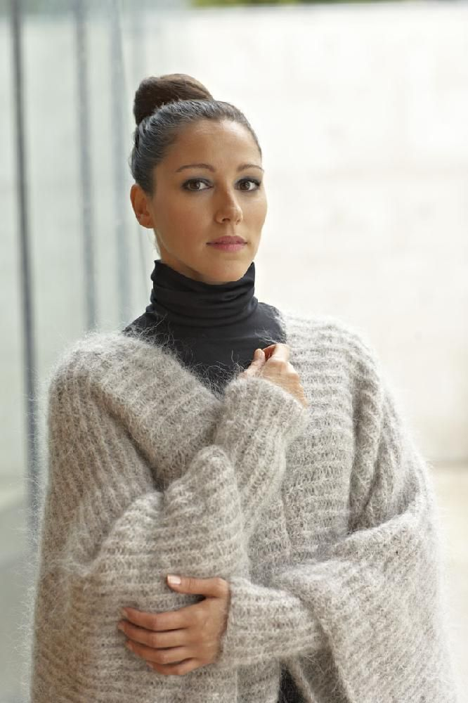 19 best Mohair images on Pinterest   Arm knitting, Hand knitting and ...