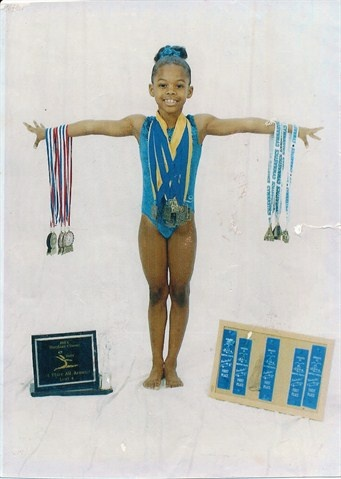 Aww, look at little Gabby Douglas!  Go to the link for a really cute slideshow...Through The Years: Gabby Douglas - Gymnastics Slideshows   NBC Olympics