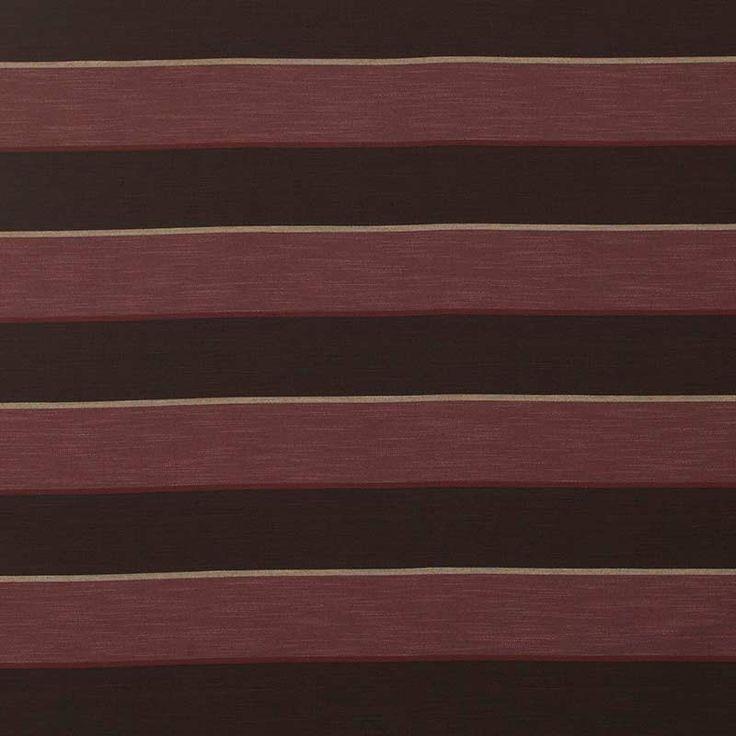 Warwick Fabrics : ARCHIMEDES, Colour AUBERGINE
