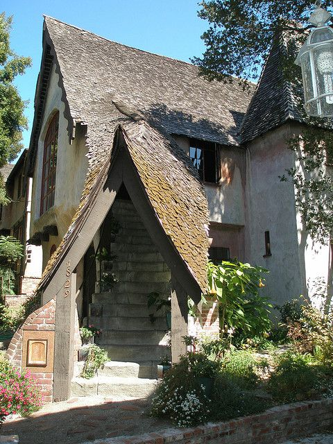 Story Book Cottage Berkeley Hearst by the-d-scene, via Flickr
