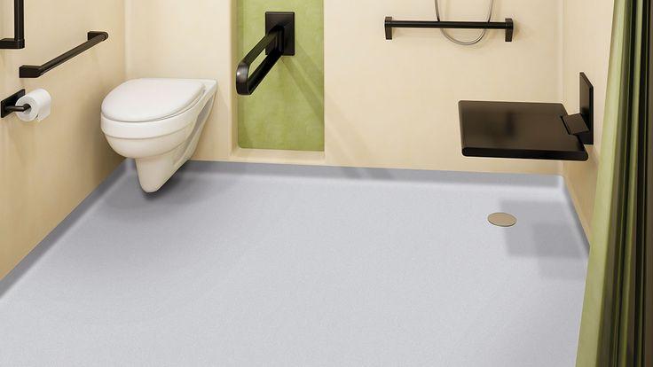 22 best hinged wet room screens images on pinterest wet for Wet room vinyl flooring
