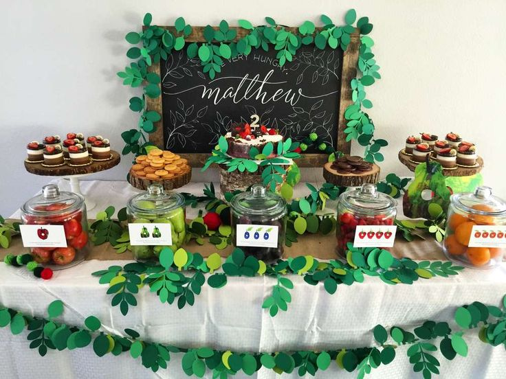 146 best The very hungry caterpillar party images on Pinterest ...