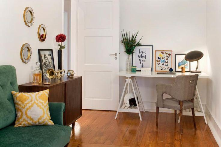 Novilei - Blog Imobiliário — 5 ideias para criar um espaço de trabalho em casa  #casa #office #escritorio #blog #decoracao