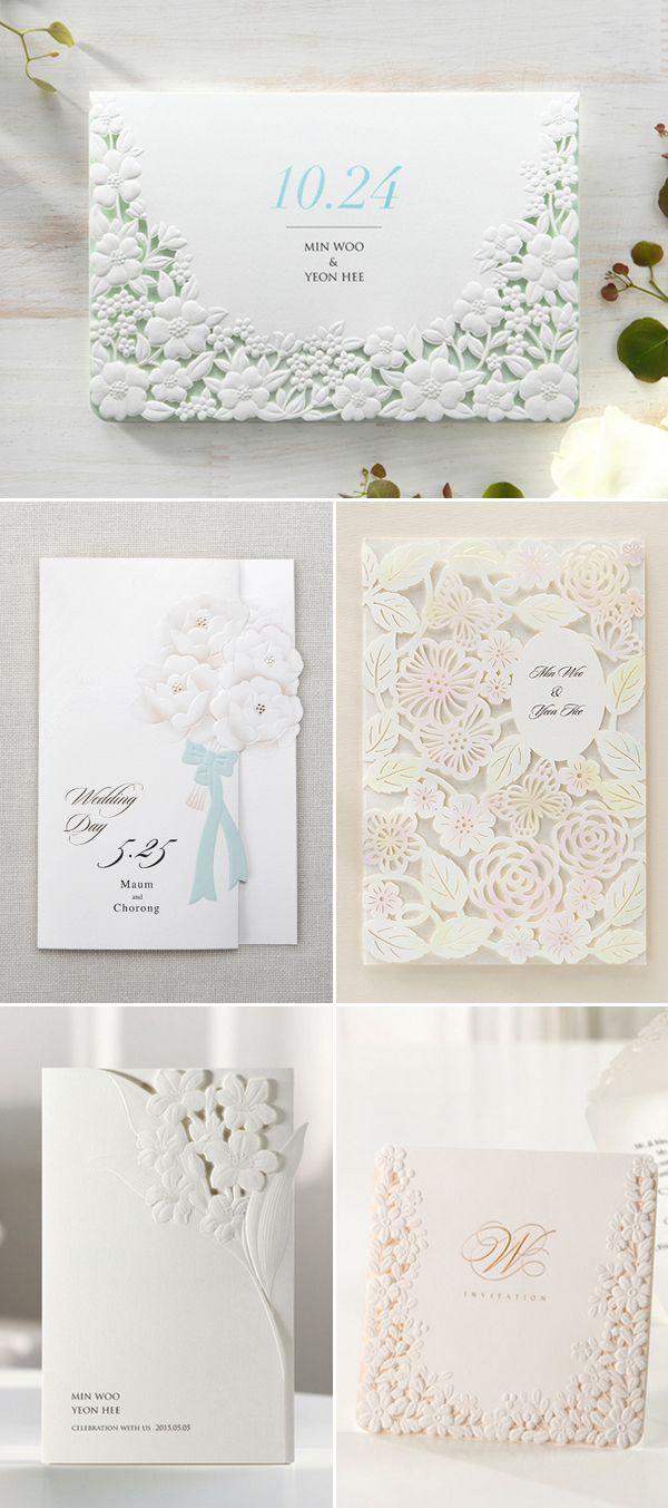 91 best Wedding Invitations images on Pinterest | Invitation cards ...