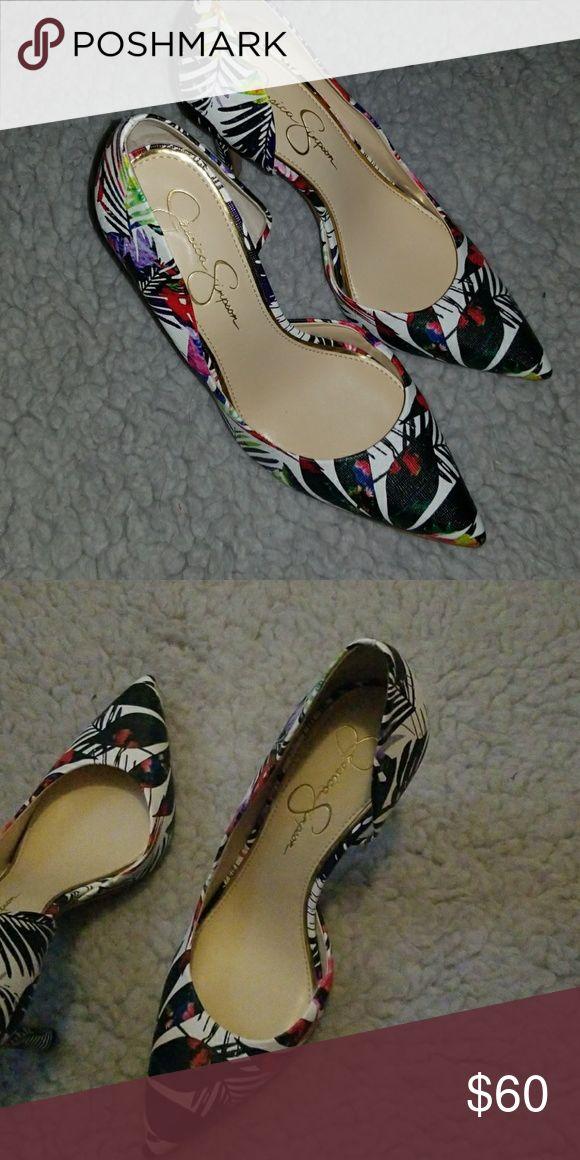 Jessica Simpson Heels Great Condition Jessica Simpson Shoes Heels