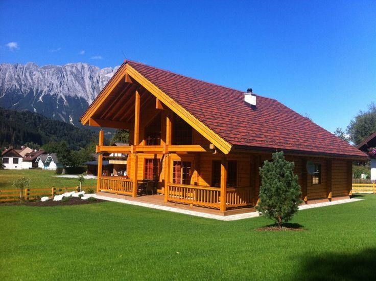 Maison en bois classique finlandaise – chalet finlandais: projet Triebental