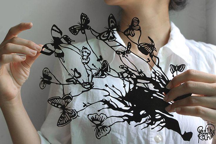 Дыхание жизни в бумажном кружеве: удивительные работы Parth Kothekar - Ярмарка Мастеров - ручная работа, handmade
