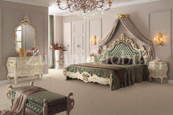 7 best collezione barocco camera da letto corallo images for Arredamento barocco veneziano