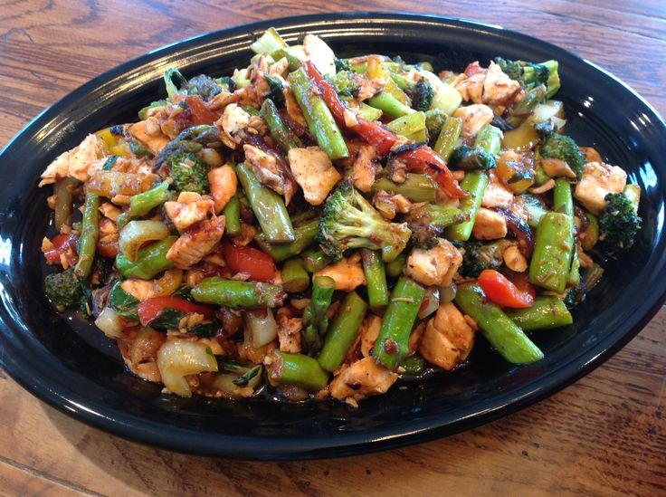 Chili Shrimp And Asparagus Stir Fry Recipe — Dishmaps