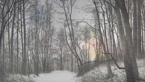 "Franklin Galambos - ""Descending Moon Light"""