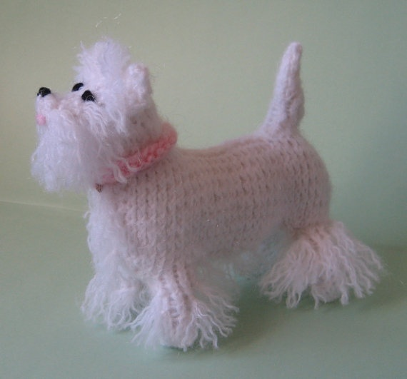 Amigurumi Scottie Dog Pattern : 1000+ images about Honden en katten haken on Pinterest ...