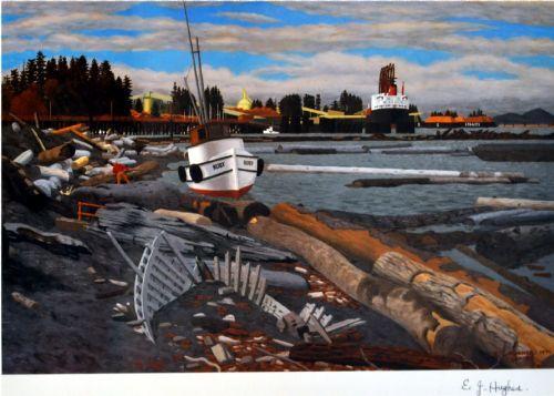 E.J. Hughes | Penticton Art Gallery