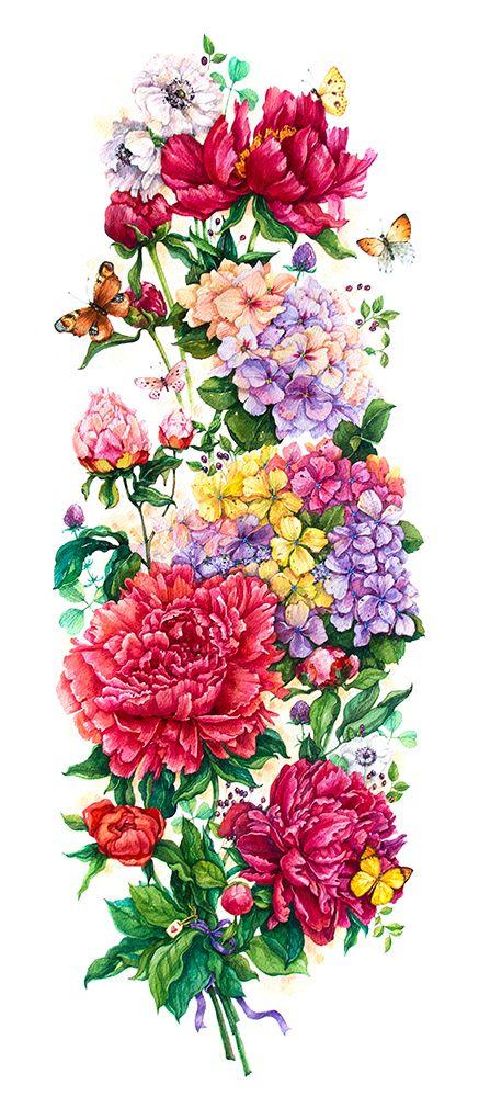 Illustration of Mikheeva Ekaterina