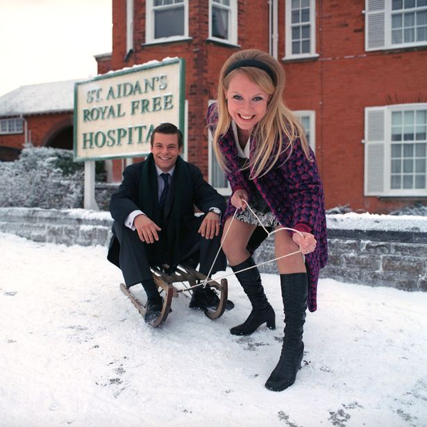 Royalty: Michelle Hardwick played Lizzie in The Royal alongside Paul Fox