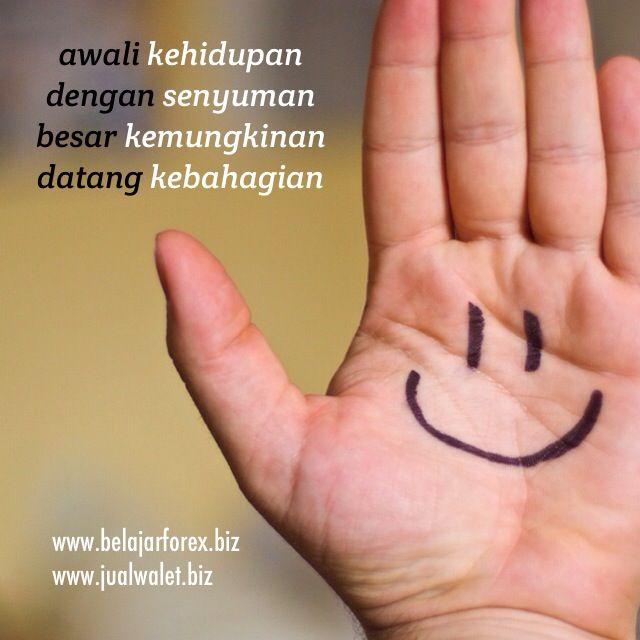 Awali kehidupan dg senyuman, besar kemungkinan datang kebahagian. Pagi pagi #SEMANGAT #PAGI semua. R U ready? - www.jualwalet.biz | www.belajarforex.biz