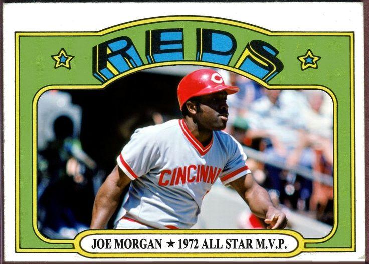 1972 Topps Joe All Star MVP, Cincinnati Reds