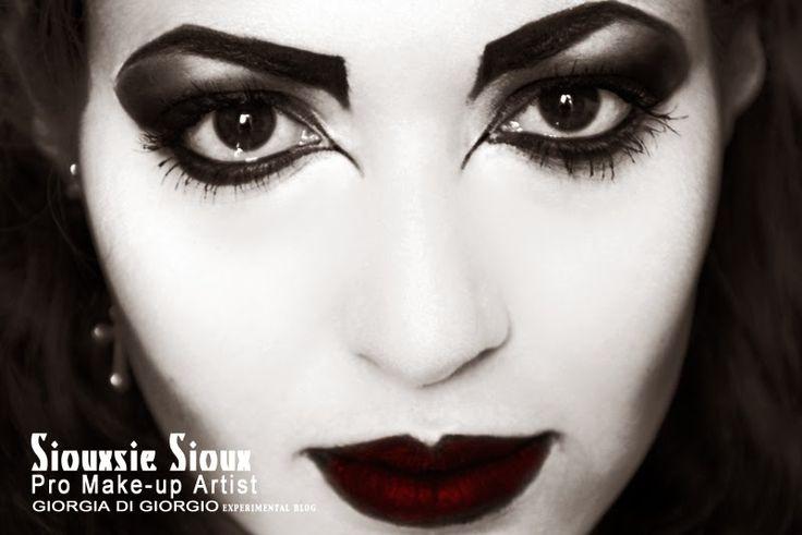 Make-up by Giorgia Di Giorgio Siouxie ispired  Model: Martina