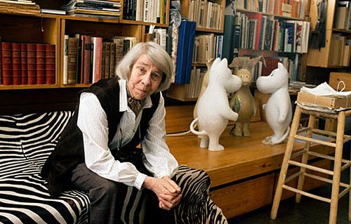 Tove Jansson with Moomins #ScanAdventures