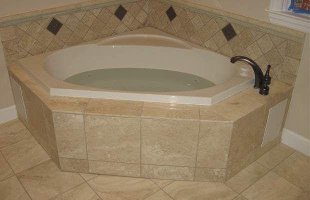 Corner Baths for Small Bathrooms, Corner Tub Ideas