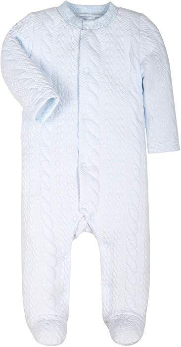 Amazon.com  Baby Boys Girls Warm Long-Sleeve Footed Pajamas Sleeper Rompers(Gray  Striped Jacquard) (Gray Stripe 03d4ab967