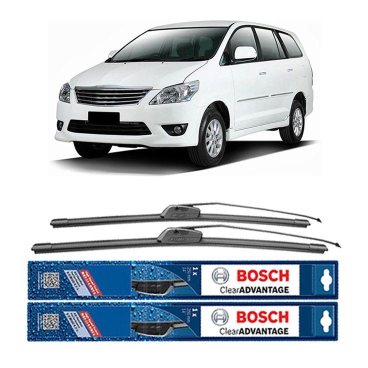 "Bosch Sepasang Wiper Frameless New Clear Advantage Mobil Toyota Kijang Innova (24"" & 16"") - 2 pcs/set  Frameless Umur Pakai & Daya Tahan Lebih Lama Penyapuan kaca yang senyap Performa Sapuan Optimal Instalasi Mudah & Cepat Original Produk Bosch  http://klikonderdil.com/frame-less/1226-bosch-sepasang-wiper-frameless-new-clear-advantage-mobil-toyota-kijang-innova-24-16-2-pcsset.html  #bosch #wiper #jualwiper #frameless #kijanginnova"