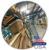 "36"" - Convex Acrylic Safety & Security Mirror #Indoor/Outdoor# W/2 Telescope Bkts"