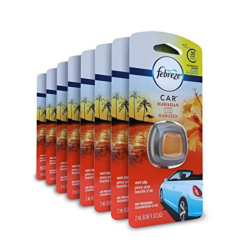 #Febreze  #Air #Freshener, #Car #Vent #Clip #Air #Freshener Doesn't just mask, truly eliminates odors #Febreze #CAR #Vent Clips slowly release freshness for up to 30 days (on low and under ambient conditions) A lush, tropical Hawaiian Aloha scent https://automotive.boutiquecloset.com/product/febreze-air-freshener-car-vent-clip-air-freshener/