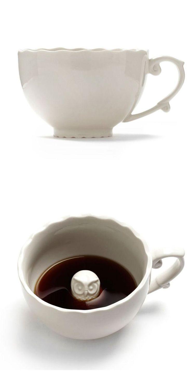 Peek-a-hoo Owl Teacup