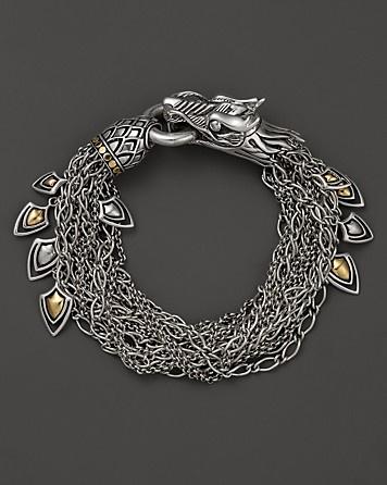 John Hardy Naga 18K Gold and Silver Dragon Bracelet | Bloomingdale's