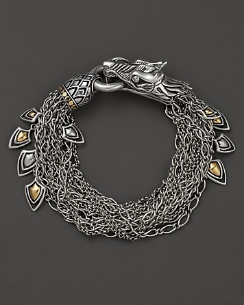 John Hardy Naga 18K Gold and Silver Dragon Bracelet | Bloomingdale's