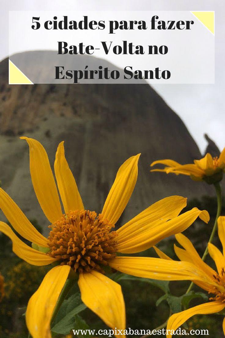 Descubra 5 cidades para fazer no Espírito Santo, Brasil.
