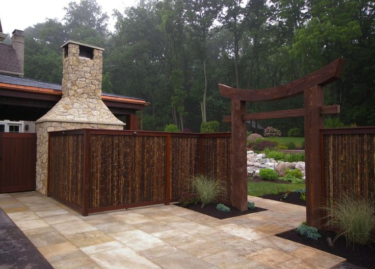 Japanese Garden Fence Design find this pin and more on japanese gardens Japanese Garden Designs