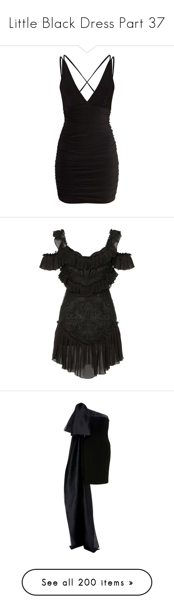 """Little Black Dress Part 37"" by leanne-mcclean ❤ liked on Polyvore featuring dresses, short dresses, pretty little thing, vestidos, bodycon cocktail dresses, shirred dress, ruched dress, ruching dress, black and alice mccall dress"