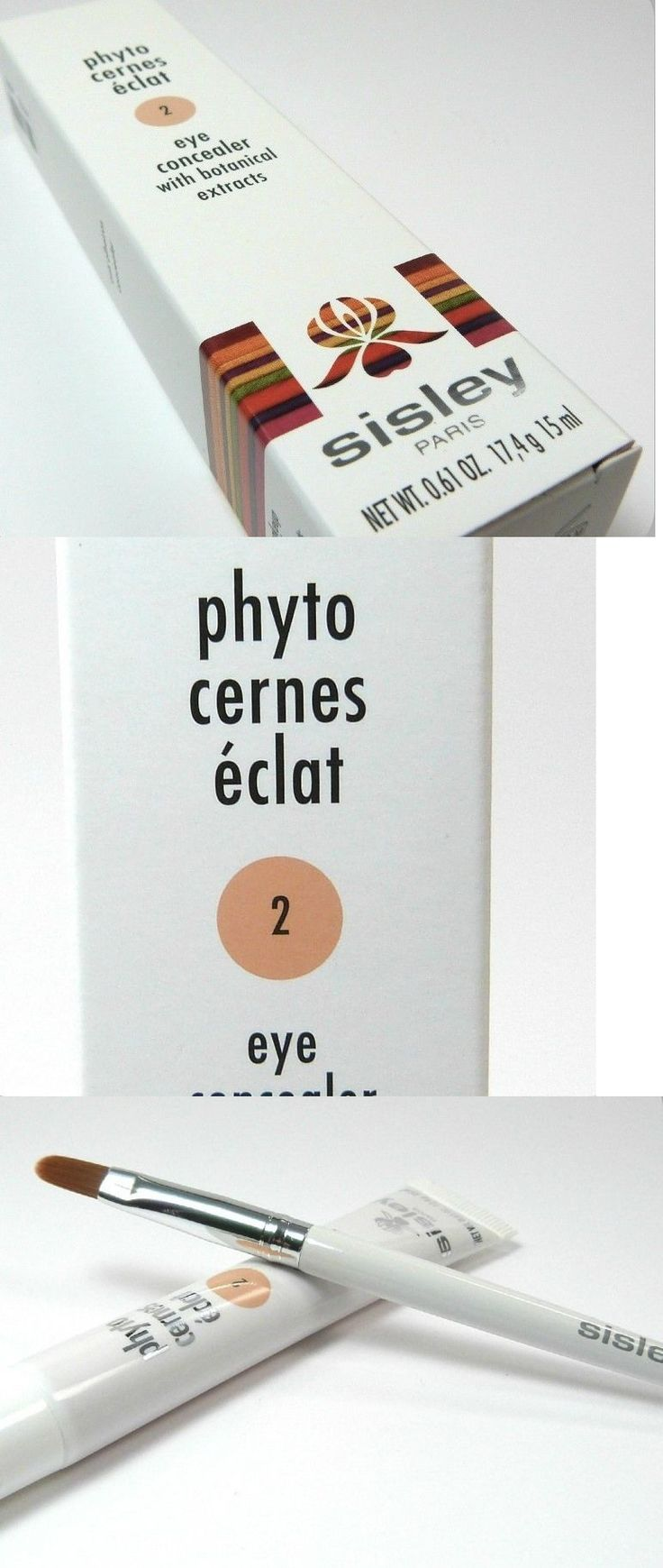 Concealer: Sisley Phyto Cernes Eye Concealer In Shade 2 ? Natural, Long-Lasting Finish -> BUY IT NOW ONLY: $79 on eBay!
