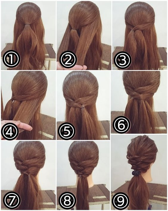 Wrapped and Twisted Ponytail Look | Makeup Mania