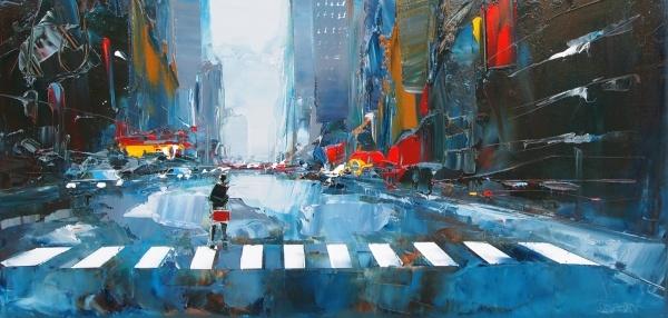 New york daniel castan peintre daniel castan for Castan peintre