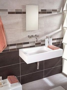 Epsilon Perla Wall And Floor Tiles A Grey Porcelain Wall And Floor Tile Suitable For Bathrooms And Kitchens It Comes In Four Colours Beige Grey
