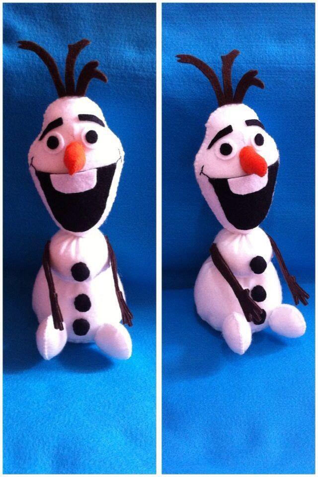 Olaf em Feltro
