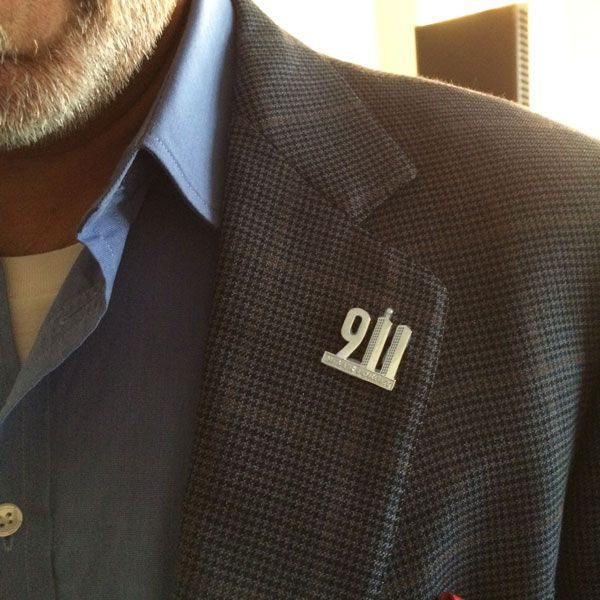 911 Never Forget Pin Steven Singer Jewelers