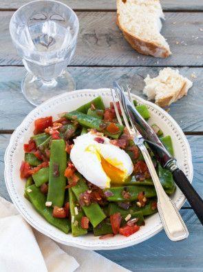 Recette Salade de haricots coco plat pour 4 personnes - GRAND FRAIS