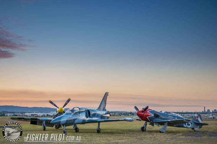 Fighter Pilot P-51D Mustang, L-39 Albatros and Yak-3 Steadfast. Photography by Mark Greenmantle Photography.