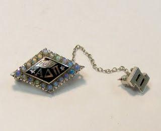 NPC Sorority Badges: 1955 Alpha Delta Pi