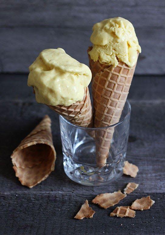 Kokosowe lody z mango