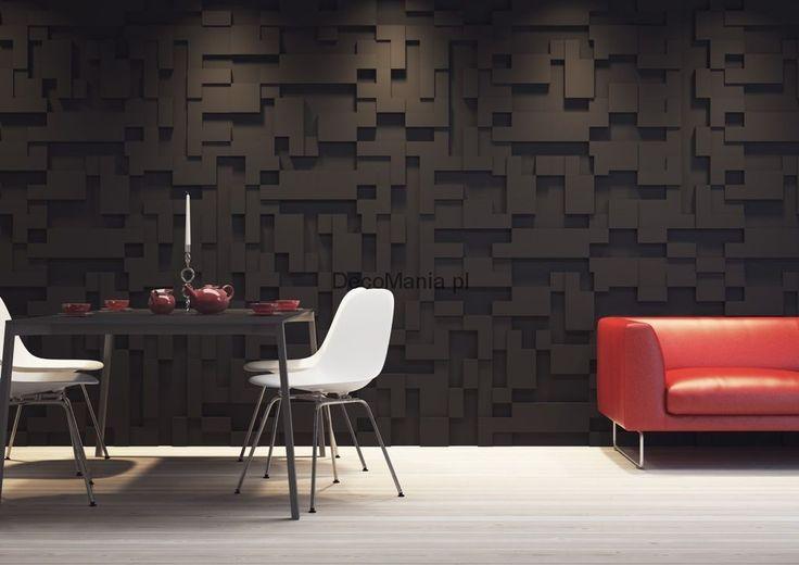 Panele ścienne 3D - Dunes - Model 15 - Rectangles | DecoMania.pl