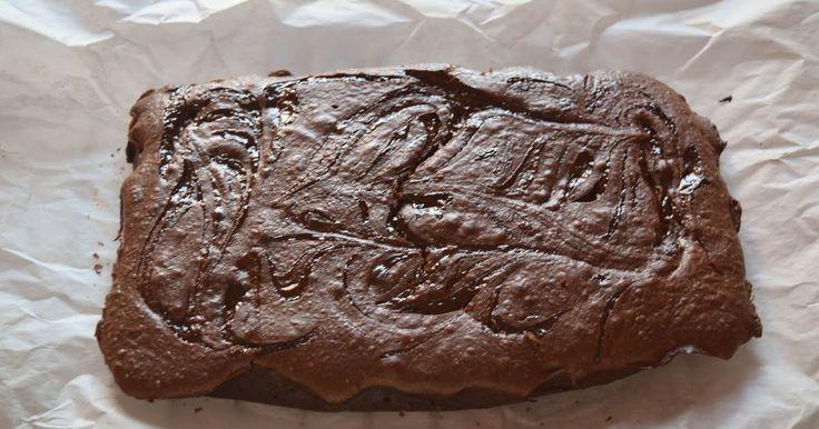 Brownie de Dulce de Leche. Repostería Tximeleta.