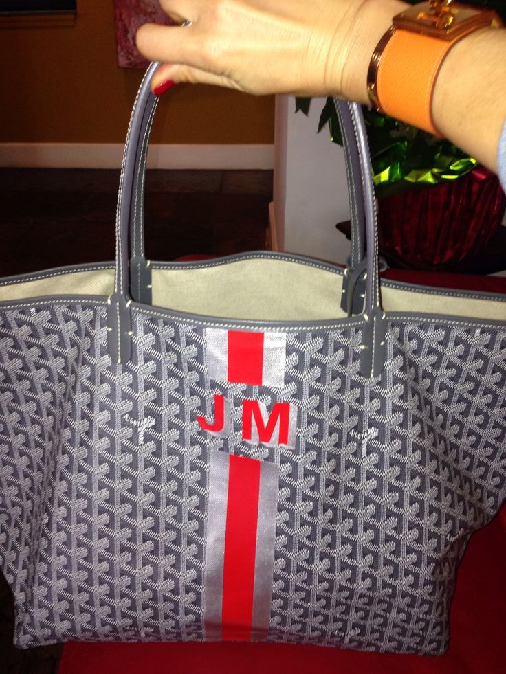 Always wanted a monogrammed bag