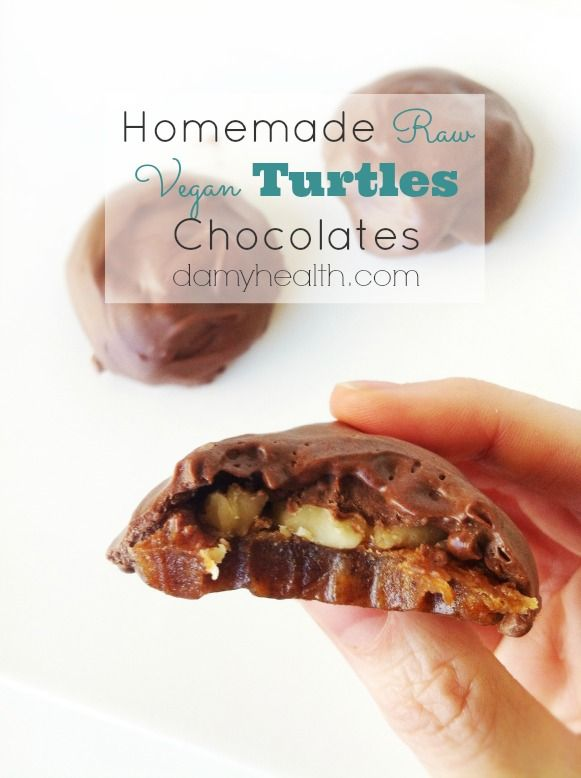 reflective sunglasses Homemade Raw Vegan Turtles Chocolates